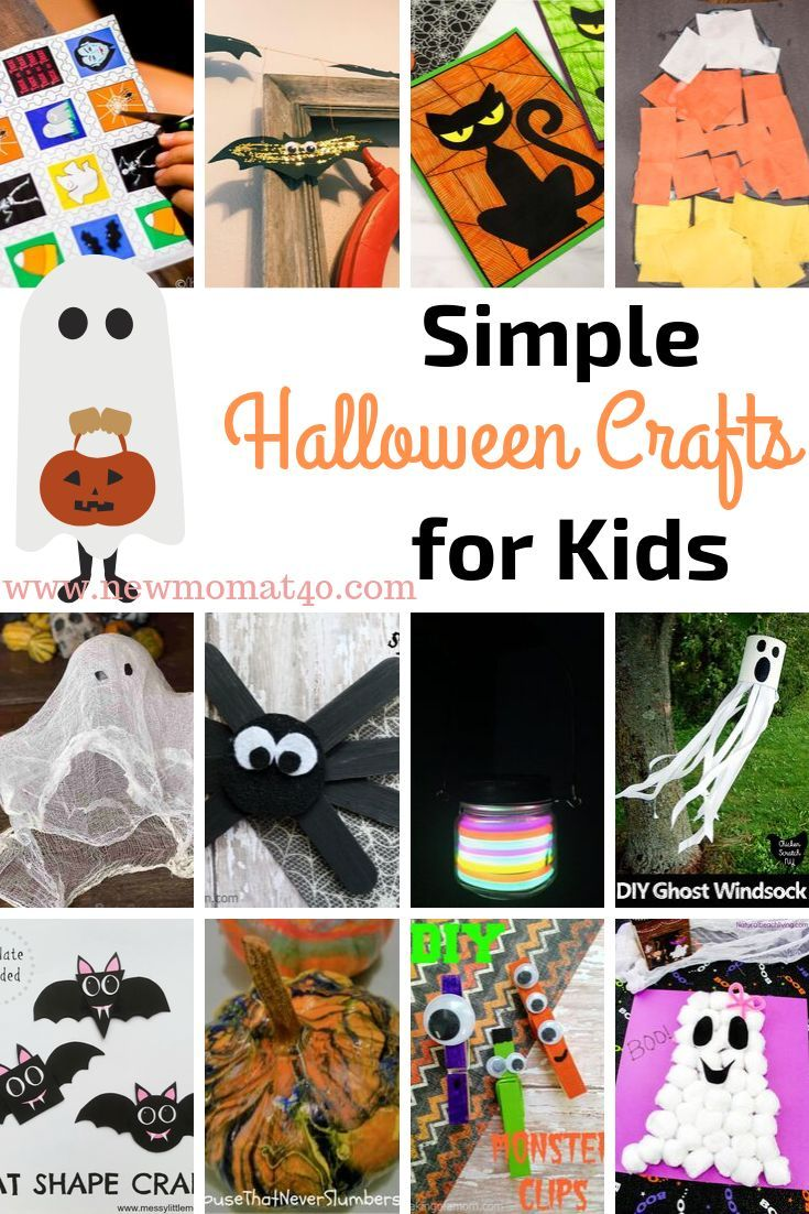 New Halloween Crafts.The Best Halloween Crafts For Kids Ever New Mom At 40 Halloween Crafts For Kids Halloween Crafts Halloween Handprint Crafts