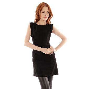 Vestido Le minuit Fidji-Negro #Leminuit #girl #loveit #fashion #summer #dress #black #lookbook #liniofashionco #cool