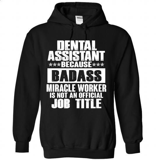 Dental Assistant - #teestars #zip hoodie. MORE INFO => https://www.sunfrog.com/No-Category/Dental-Assistant-7520-Black-Hoodie.html?60505