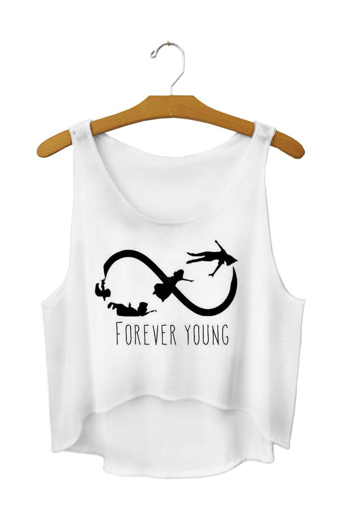 I don't do crop tops, but I might just have to get a black tank to where under this for our Disney trip. Peter Pan is one of my absolute favorites!