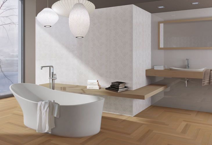 17 best images about rivestimenti bagno on pinterest surf country style and tile - Bagno in parquet ...