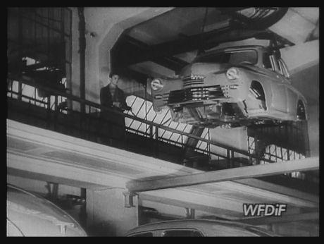 1949. New Pobieda - russian car [video] (REPOZYTORIUM CYFROWE FILMOTEKI NARODOWEJ) #car #russiancar