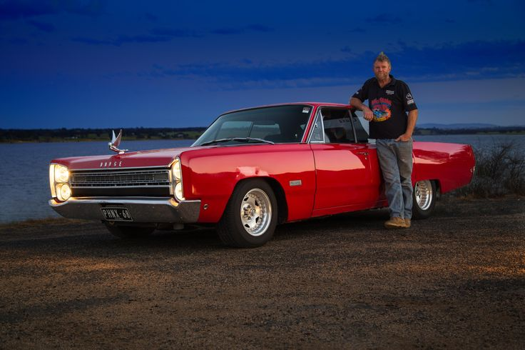 Pride and Joy, final image, Darren Hodge and his 1968 Dodge Phoenix