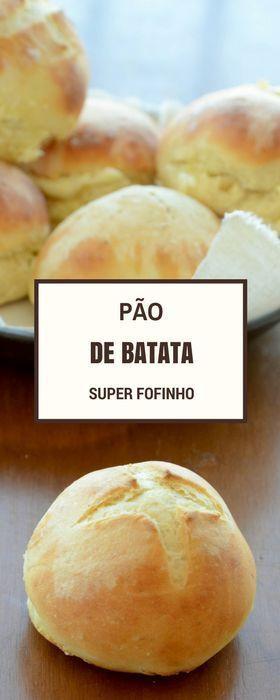 Receita de pão de batata fácil