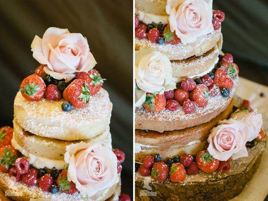 Tiered Victoria Sponge wedding cake – photography http://www.photography.hannahbeatrice.co.uk/