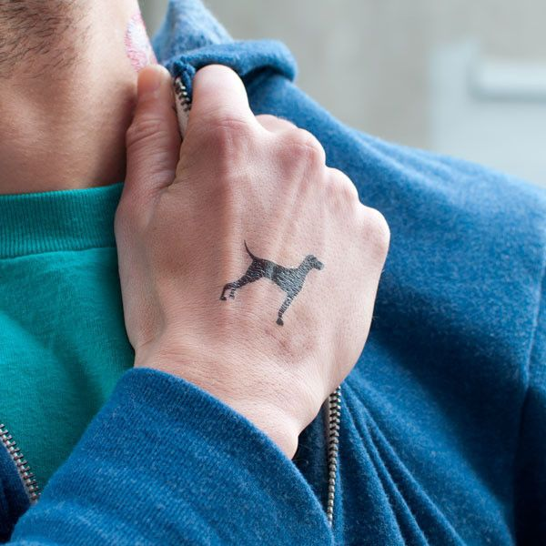Tattly temp Tattos from Brooklyn. can have custom BB tats made, could also do your dog's name