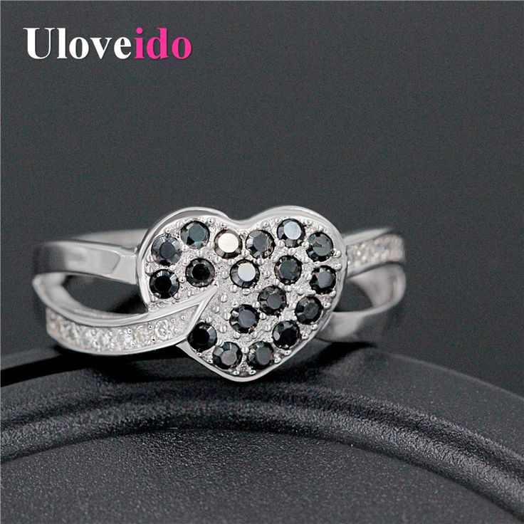 Find More Rings Information about Uloveido Engagement&Party Wedding Black Bague Simulated Diamond Rings Zirconia for Women Aneis de Diamante Anillos Jewelry Y007,High Quality ring zirconia,China simulated diamond rings Suppliers, Cheap diamond ring from Ulovestore Fashion Jewelry on Aliexpress.com