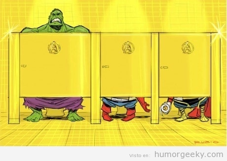 perfect for an Avengers kids bathroom