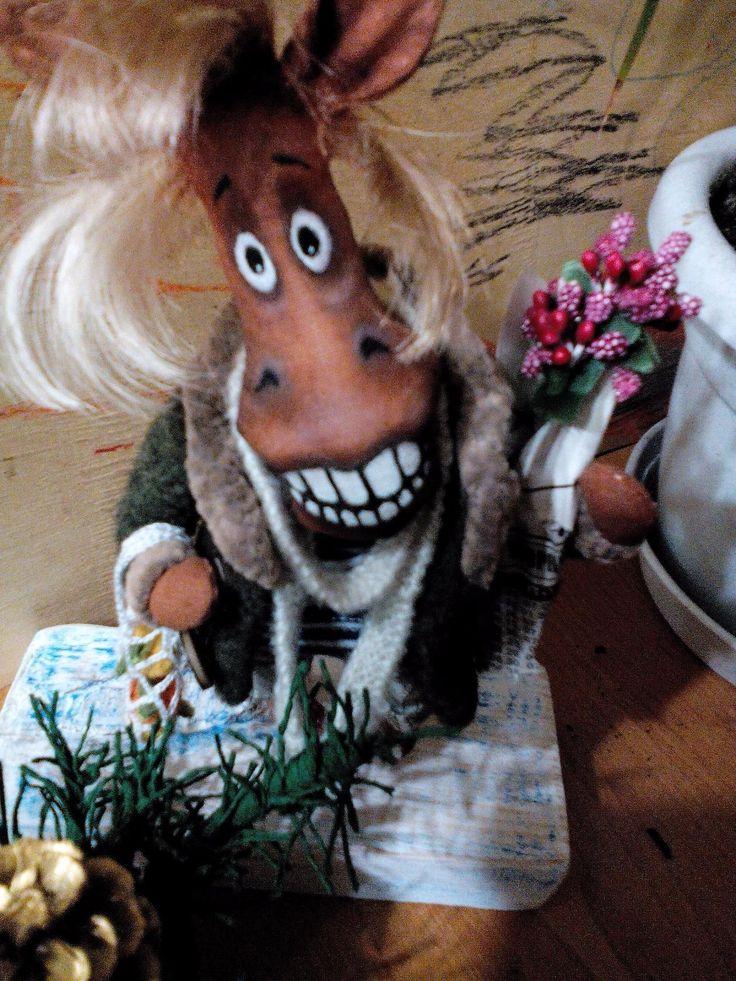 #ручнаяработа #handmade кто! кто! Конь в пальто!!! -20 $