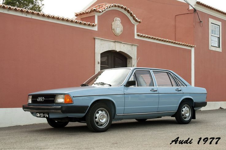 Audi 1977, modelo LS, Type 43.