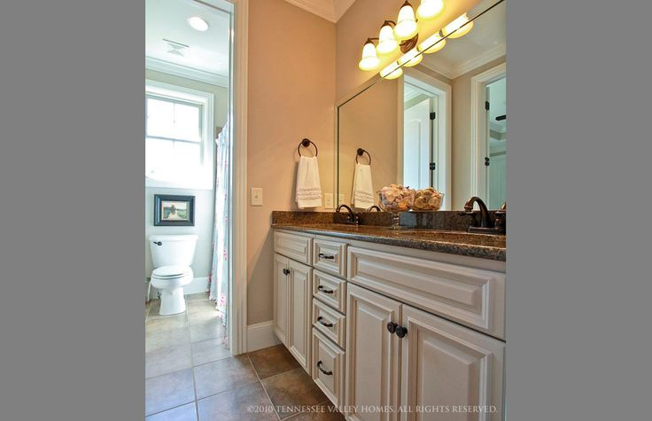 407 best images about for the home on pinterest for Jack and jill bathroom vanity