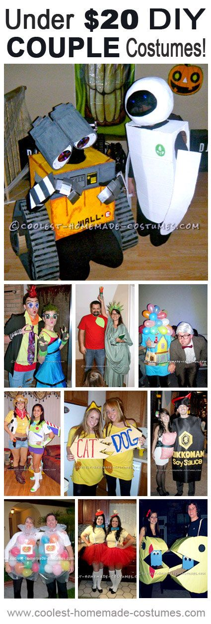 Coolest DIY Couple Costumes for Under $20!