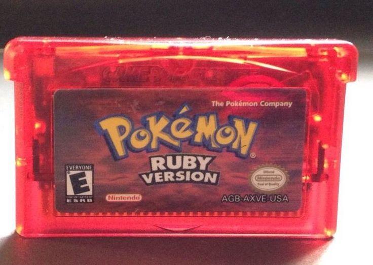 Pokemon Ruby Version Game Boy Advance GBA NINTENDO 2003 45496732530 | eBay