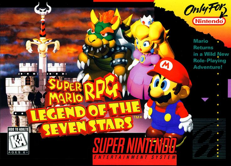 Super Mario RPG: Legend of the Seven Stars, Super Nintendo