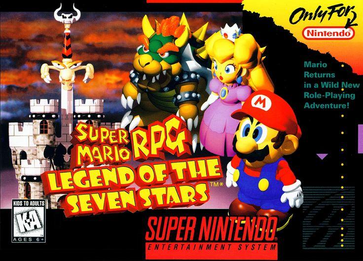 Super Mario RPG: Legend of the Seven Stars, Super Nintendo