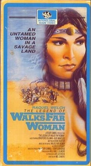 The Legend of Walks Far Woman VHS cover