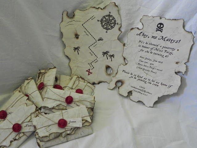 Hogar y vida cotidiana: 6 invitaciones a una fiesta pirata