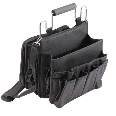 39d2775603fc On-the-go tote bag has room for all your salon goodies. Expandable pockets  hold hair brushes