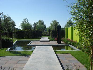 Schijf van vijf: Actief. Een mooie tuin realiseren die onderhoudsvriendelijk blijft. 1 jaar goal