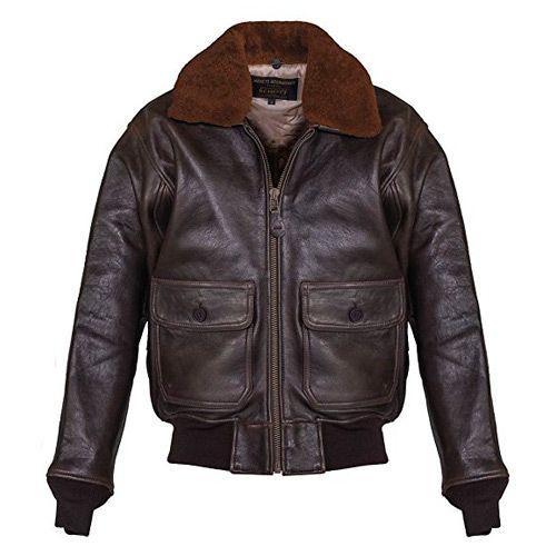 grandes ofertas estilos frescos nueva productos calientes CHAQUETA DE CUERO TIPO AVIADOR #aviador #chaqueta ...