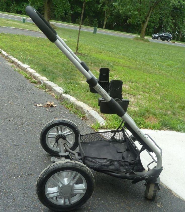 Mutsy Urban Rider Stroller Frame w/ Car Seat Adapters