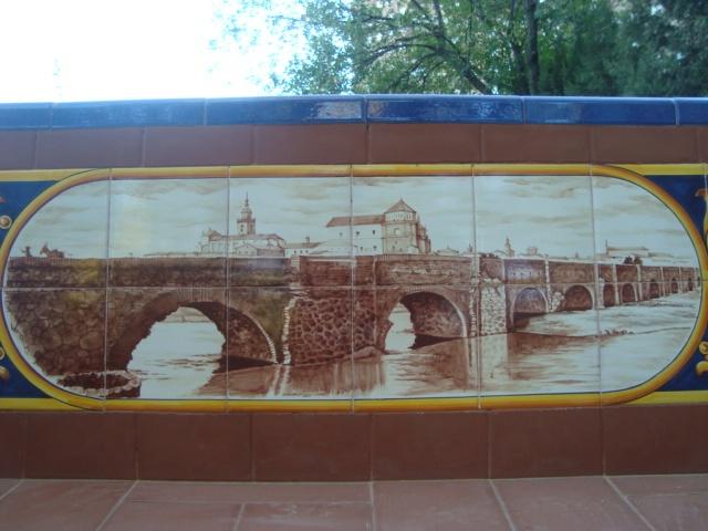 Detalle ceramica puente romano sobre el r o tajo en for Calle prado 8 talavera dela reina