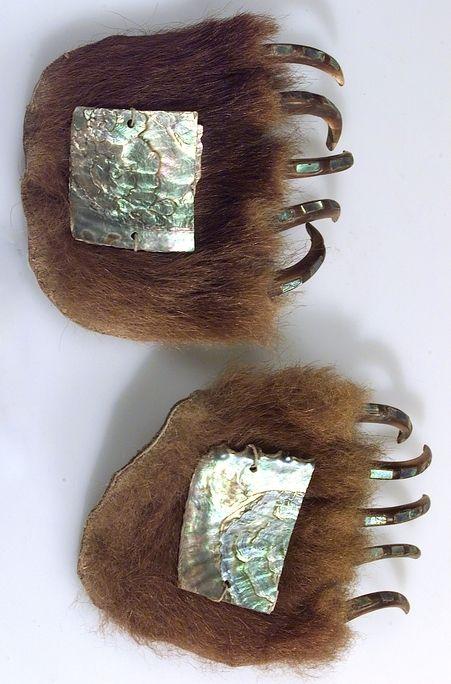Nisga'a (niska) dance accessory - Canada c.1880.
