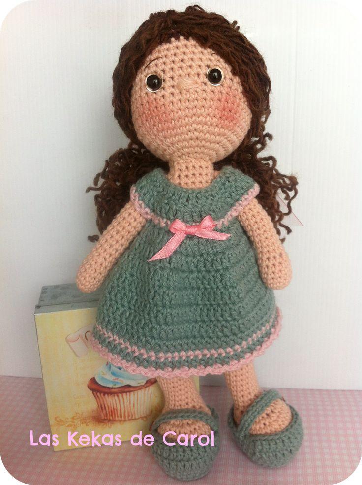 8 best Muñeca de ganchillo Isabelle images on Pinterest | Ganchillo ...