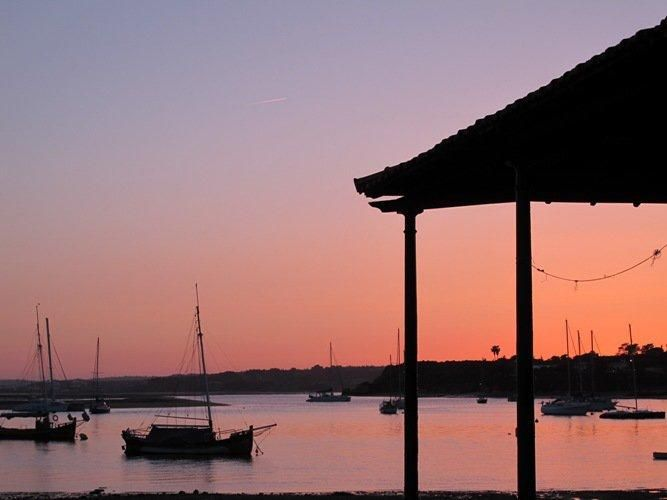Sunset in Ria de Alvor, Algarve - dreamy!