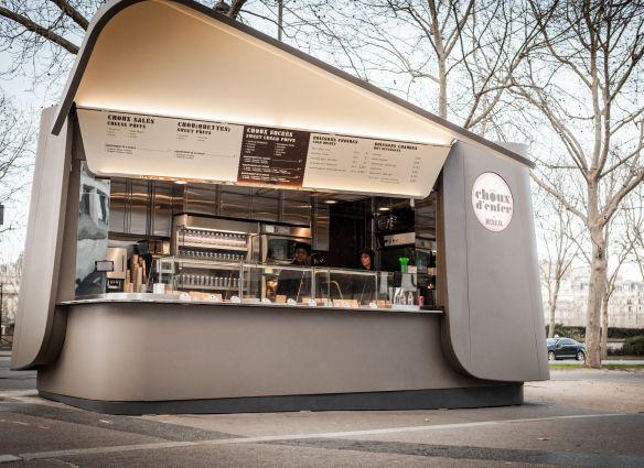 Best 25 kiosk ideas on pinterest food kiosk kiosk for Kiosque exterieur design