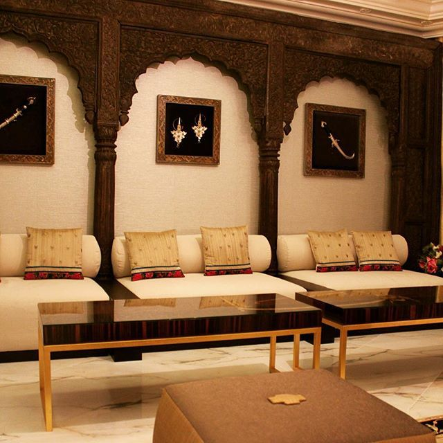 Signature Interiors In Jeddah Saudiarabia Ksa Asian Inspiration Indian Oriental Mood Sari Sofa Coffeetable Interiordesign Arab Art Luxury