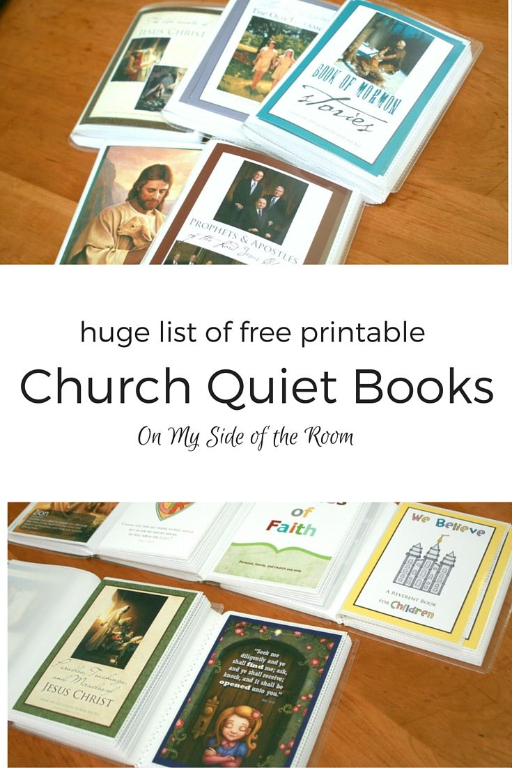 I've had a number of people ask about these printable church quiet books I bring every Sunday for my boys, so here goes. First I have to say the designs for them are not mine, I just added the pictures to them. But it's been a big project getting them all done for my kiddos and I'm finally finished. It Read More...