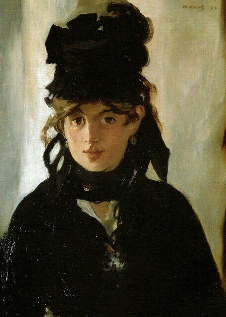 Édouard Manet, 1872, Berthe Morisot, Musée D'orsay.