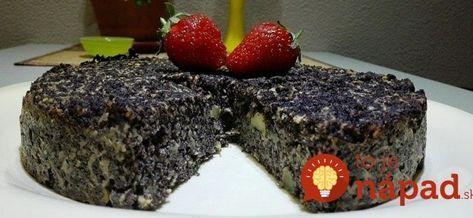Bez múky a cukru, zmiešaný za 3 minúty: Magický makový koláčik, z ktorého nepriberiete ani gram!