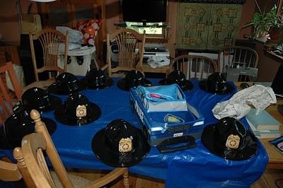 Police car birthday party ideas