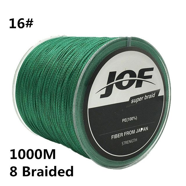 29.16$  Buy here - http://aliwko.shopchina.info/1/go.php?t=32768734231 - 16# 1000m 8 Braided Fishing Line 100% PE 0.7MM 120LBS 54KG Super Strong 8 Strands Rope Cord Wire Multifilament Fishing wire #B2 29.16$ #magazineonlinewebsite