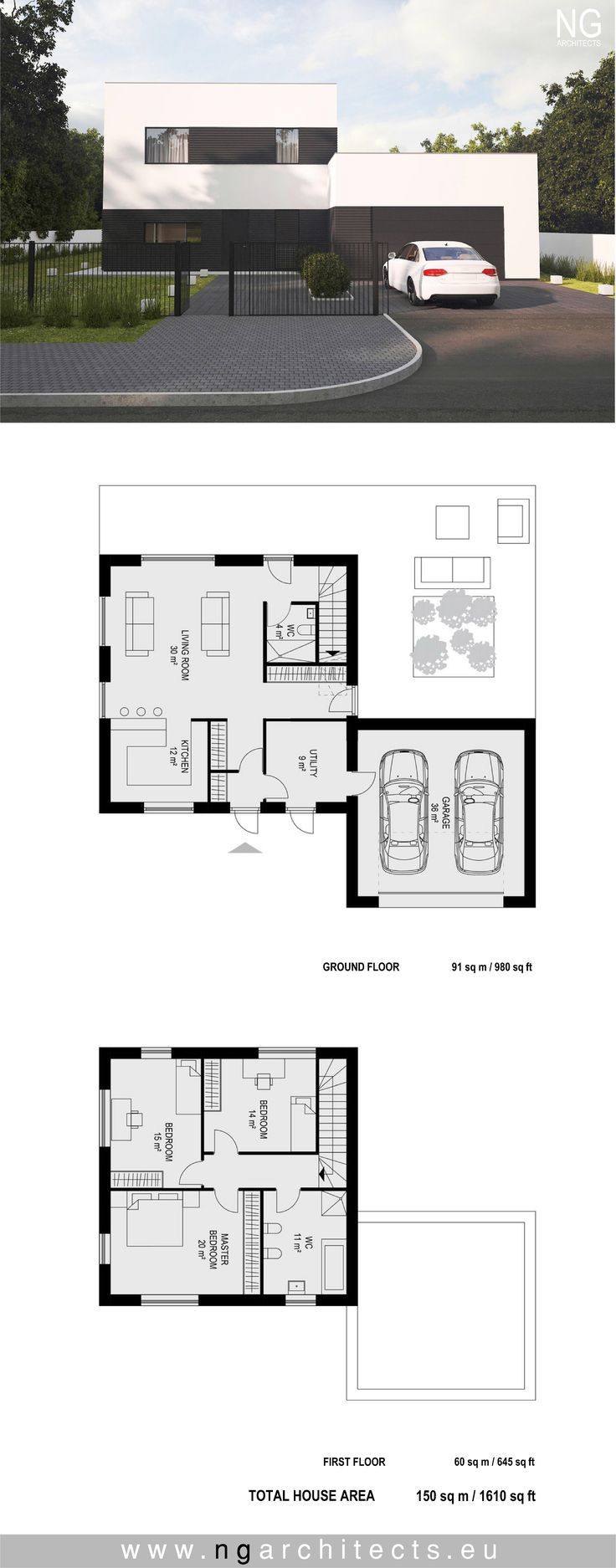 320 best modern house plans images on pinterest modern house plans modern house cube designed by ng architects ngarchitects ccuart Choice Image