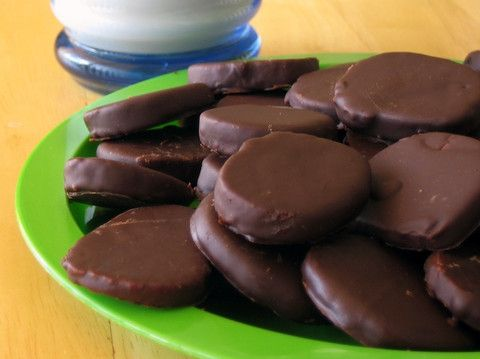 Thin Mints for National Chocolate Mint Day