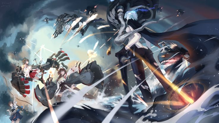 Anime Kantai Collection  Anchorage Water Demon Standard Carrier Wo-Class Heavy…