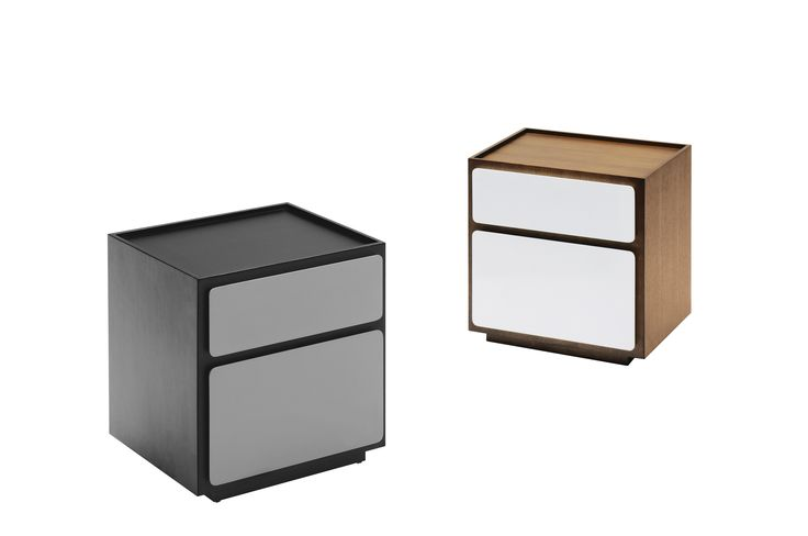 CENI 2 DRAWER BED SIDE TABLE: Made of solid wood; DIMENSIONS: W53xD45xH55 cm; PRICE: 18300/-