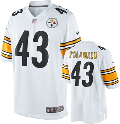 pittsburgh steelers jersey away white color - Pittsburgh Steelers Merchandise
