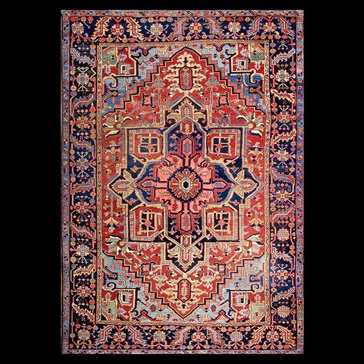 Stock Id: #17898  General Rug Type:      Persian Informal  Specific Rug Type:      Heriz  Circa: 1930  Color: Red  Origin: Iran  Width: 8' 2'' ( 248.9 cm )  Length: 11' 8'' ( 355.6 cm )
