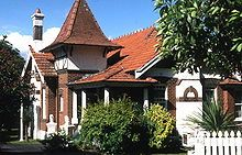 Queen Anne style architecture - Federation Home Sydney