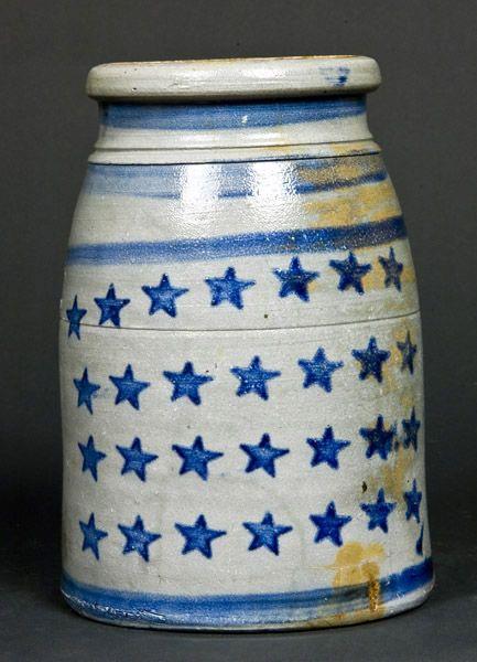 Old Stoneware Canning Jar...from Jas Hamilton & Co., Greensboro, Pa.