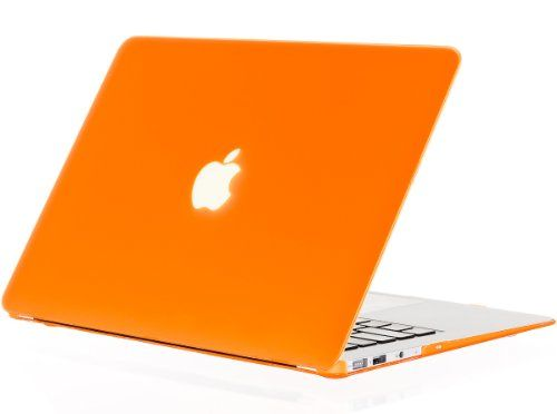 "Kuzy - AIR 13-inch ORANGE Rubberized Hard Case for MacBook Air 13.3"" (A1466 & A1369) (NEWEST VERSION) Shell Cover - Orange Kuzy http://www.amazon.com/dp/B007K0D6T0/ref=cm_sw_r_pi_dp_I1Emvb1HYB2RD"