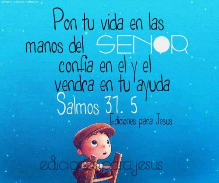 Ayuda siempre esta allí / Dios nunca te abandona...