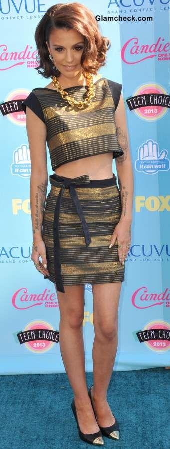 Celebrity Crop tops - Cher Lloyd 2013