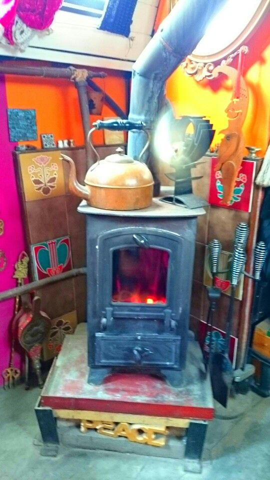 another pinner said : my lovely narrowboat stove