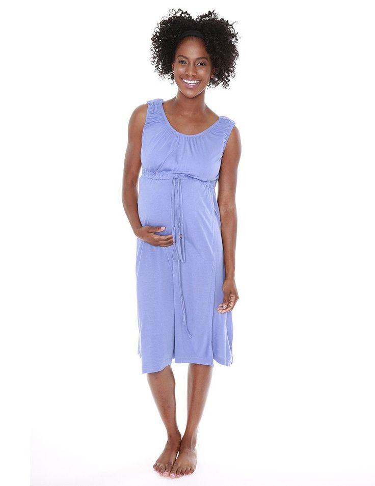 Allure 3 in 1 Labor / Delivery / Nursing Gown - milkandbaby.com