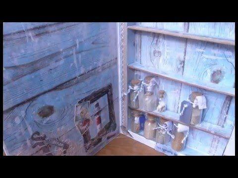 #LoveSummerArt: Sand collection book box display